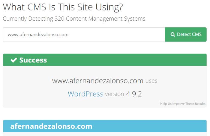 Detector de CMS web