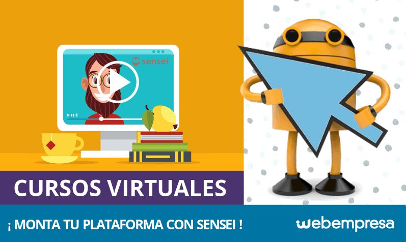 Montar una plataforma de cursos virtuales con Sensei