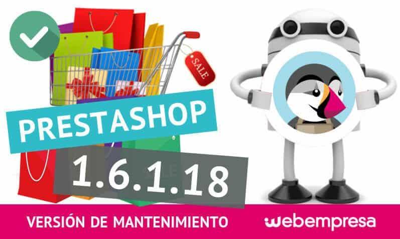 PrestaShop 1.6.1.18