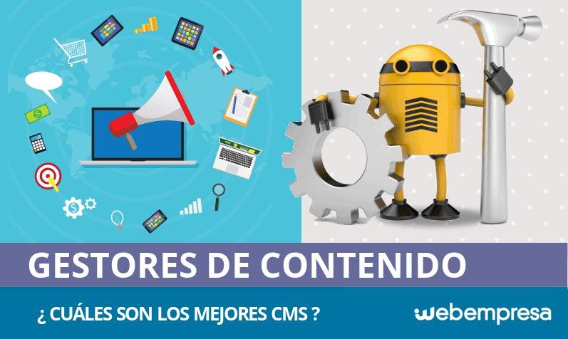 ¿Qué es un CMS y cuáles son los mejores gestores de contenidos?