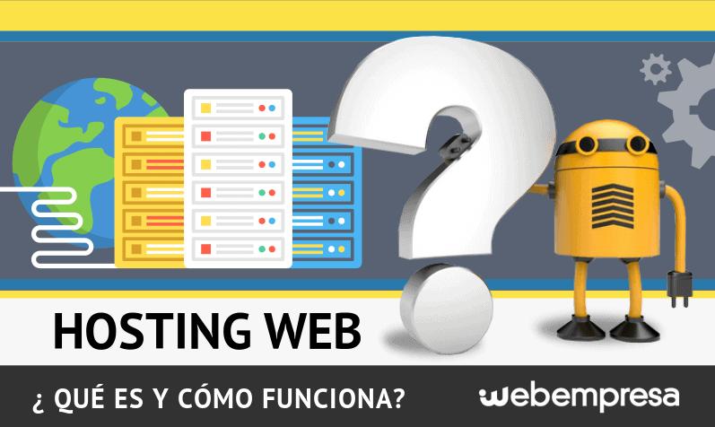 Qué es un hosting y cómo funciona