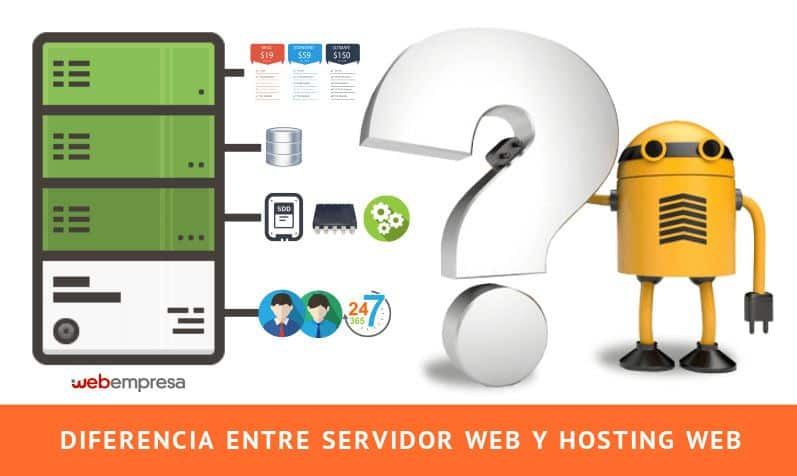 servidor web y hosting