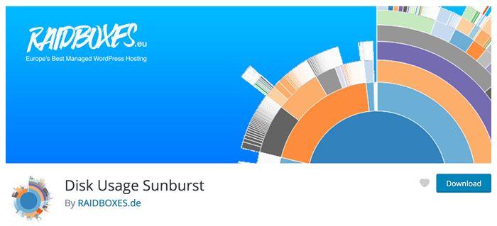 Disk Usage Sunburst
