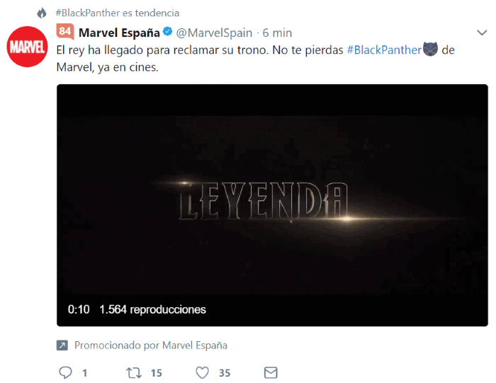 Vídeos promocionados en Twitter Ads