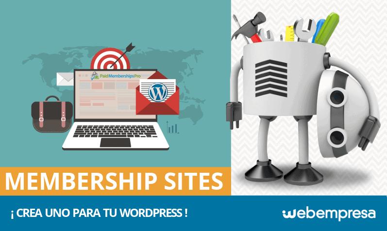 ¿Qué es un membership site y cómo crearlo en WordPress?