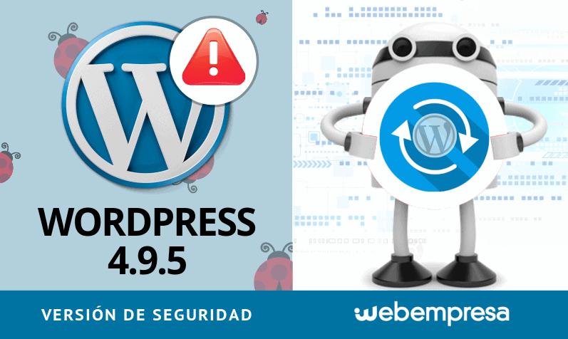 WordPress 4.9.5