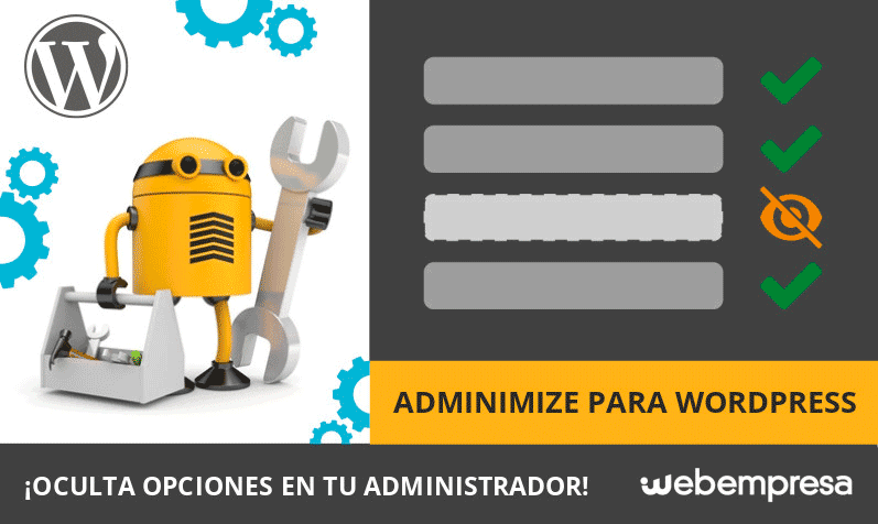 Adminimize para WordPress