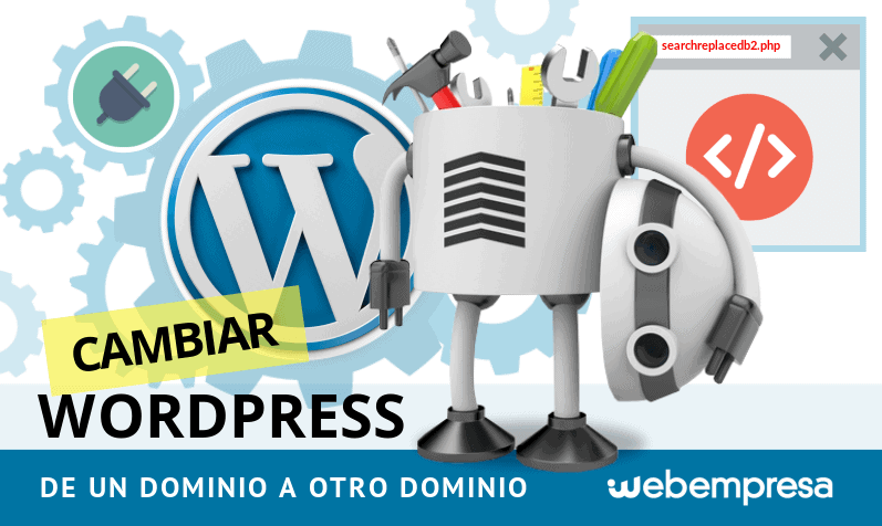 Cambiar WordPress de un dominio