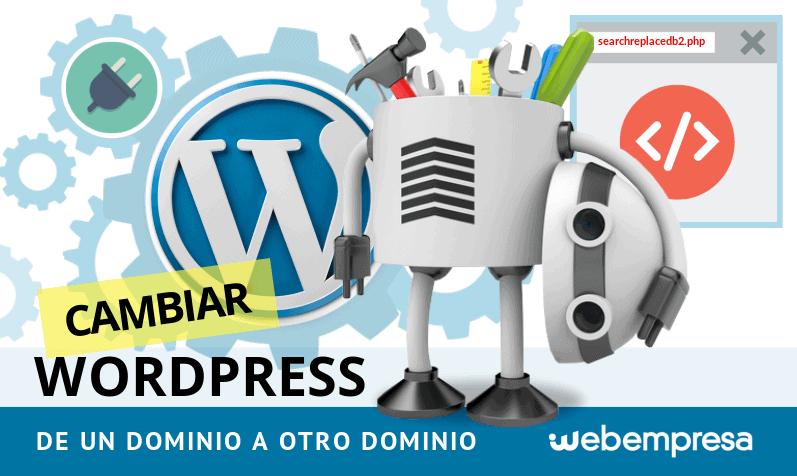 Cambiar WordPress de un dominio