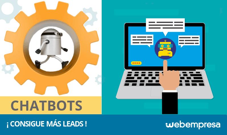 ¿Qué es un chatbot y cómo te ayudan a conseguir leads?