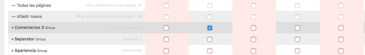 Ocultar opcion menú comentarios en WordPress