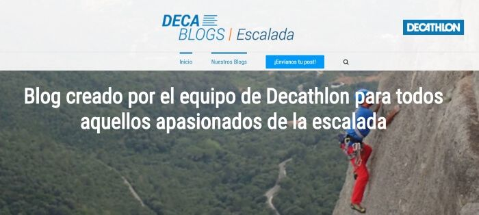 Ejemplo de inbound marketing en Decathlon