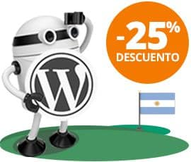 Hosting WordPress para Argentina