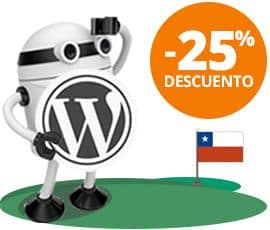 Hosting WordPress para Chile