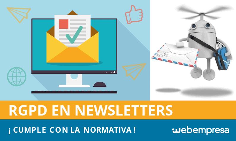 RGPD en Newsletters, ¡guía para enviar boletines que cumplan con la normativa!