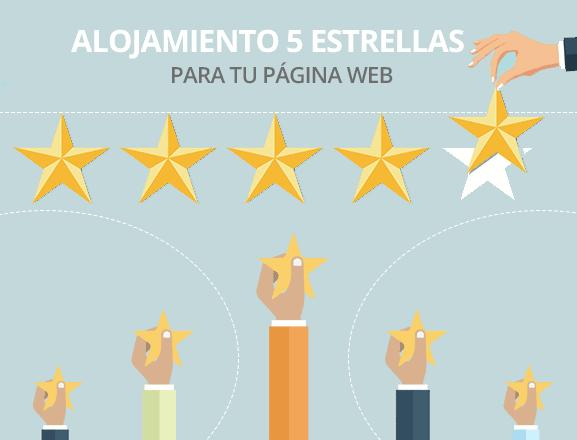 Hosting web 5 estrellas