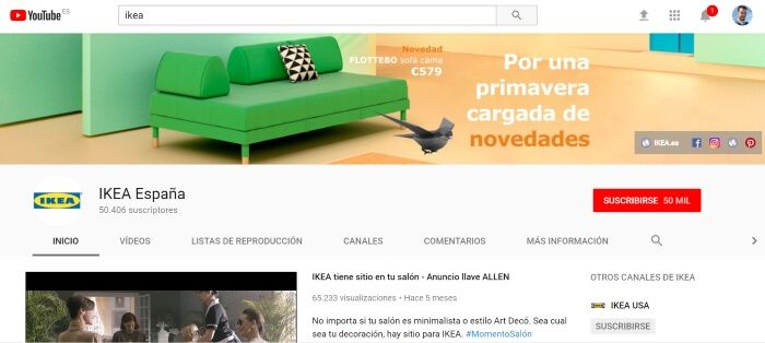 Ejemplo de inbound marketing en Ikea