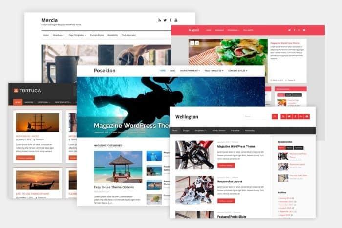 Elegir temas WordPress