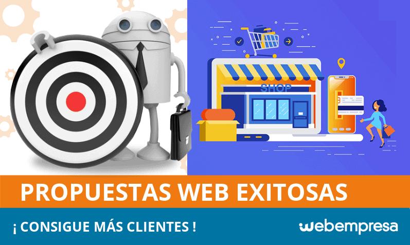 Propuestas web exitosas, ¡consigue más clientes!l