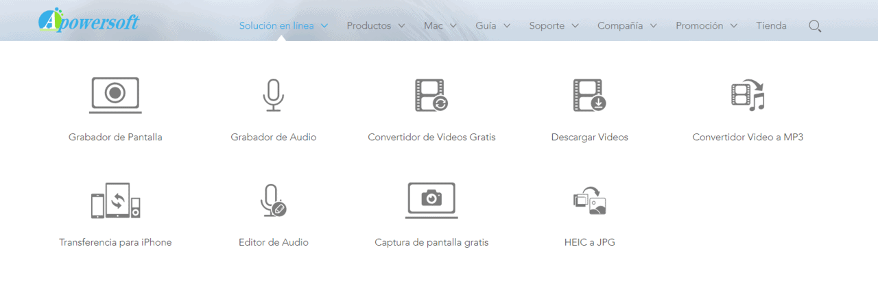 Editor de Vídeo Apowersoft