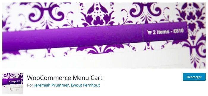 WooCommerce Menu Cart