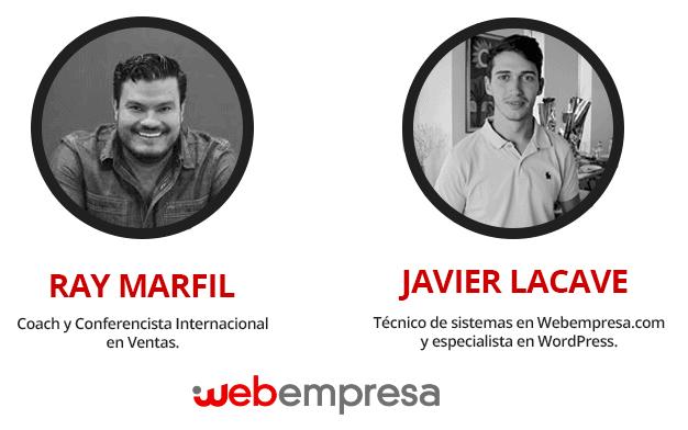 Ponentes del taller de Webempresa en México