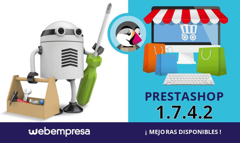 PrestaShop 1.7.4.2