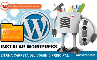 Instalar WordPress fácilmente en un Hosting cPanel