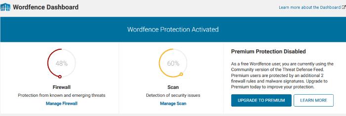 WordFence Security: opciones de configuración recomendadas