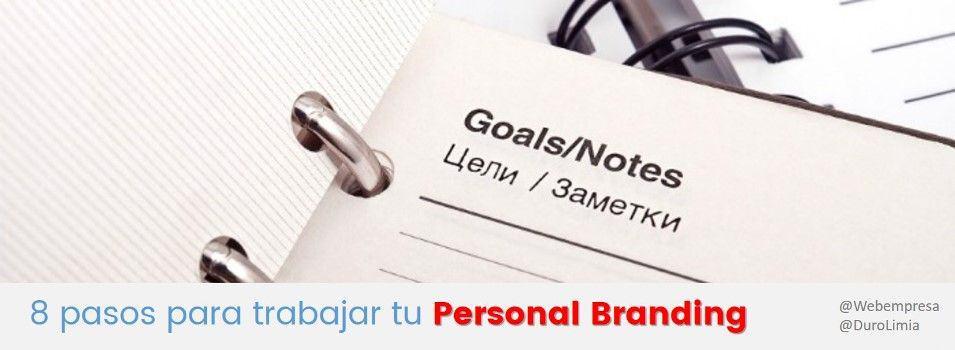 8 pasos para trabajar tu personal branding