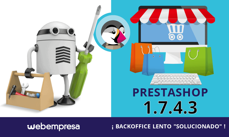 PrestaShop 1.7.4.3 ¡backoffice lento solucionado!