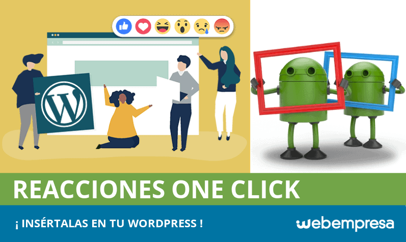 Reacciones one click para comentarios en WordPress