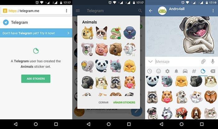 Uso de Emoticonos en Marketing de Contenidos: emoticonos en Telegram