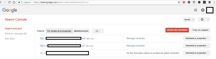 Disavow de Google: paso 1