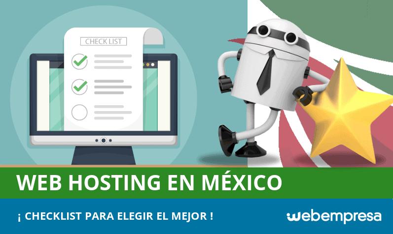 Checklist para elegir el mejor web hosting en México