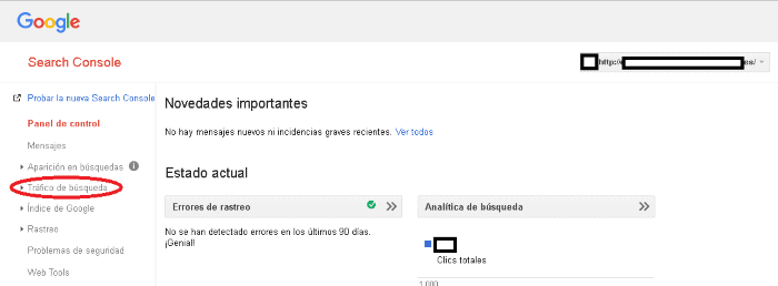 Disavow de Google: paso 2