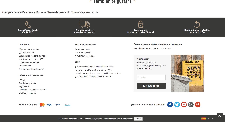 Ejemplo sistema de pago