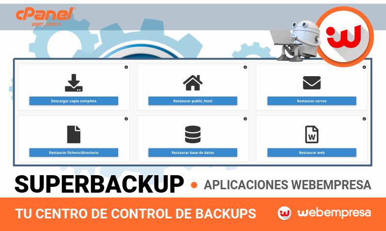 Copias de Seguridad con SuperBackup