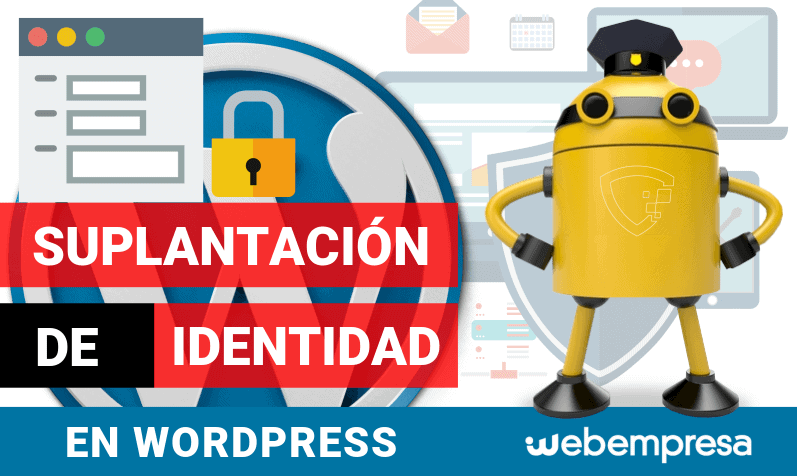 Suplantación de Identidad en WordPress