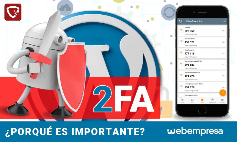 Qué es 2FA o autenticación en dos pasos