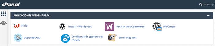 Configuración gestores de correo