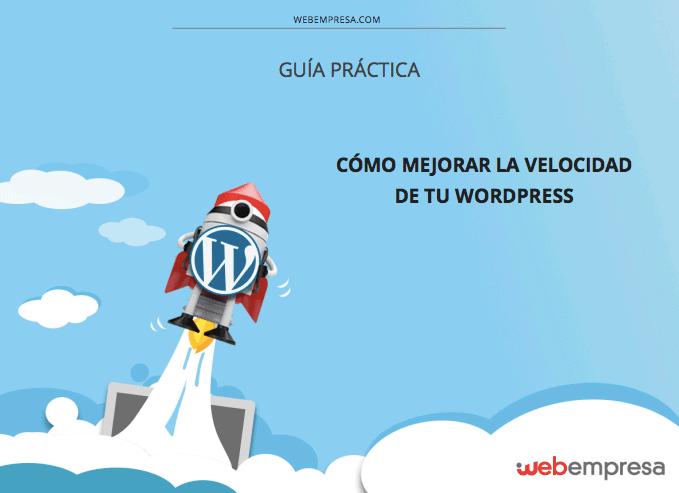 Ejemplo de infoproducto para eCommerce: ebook velocidad WordPress