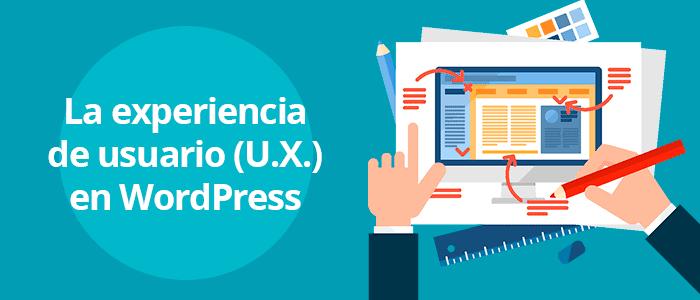 La UX en WordPress