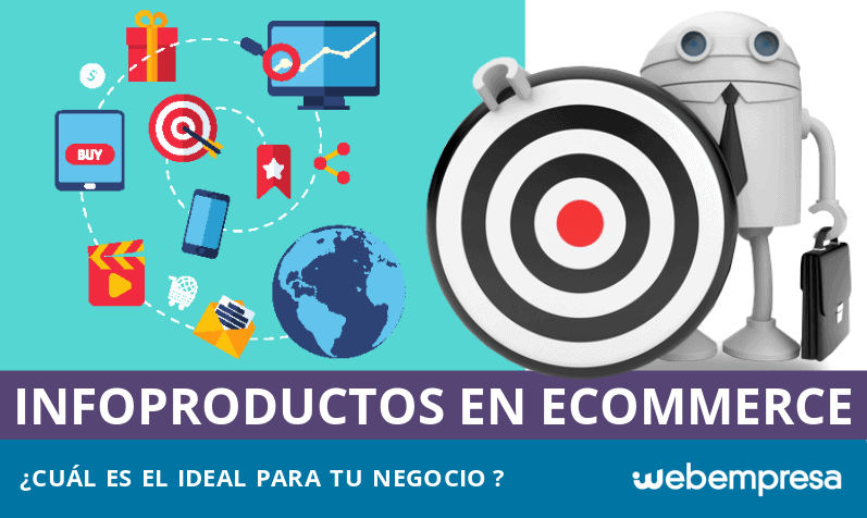 Infoproductos, ¿cuál es el ideal para tu eCommerce?
