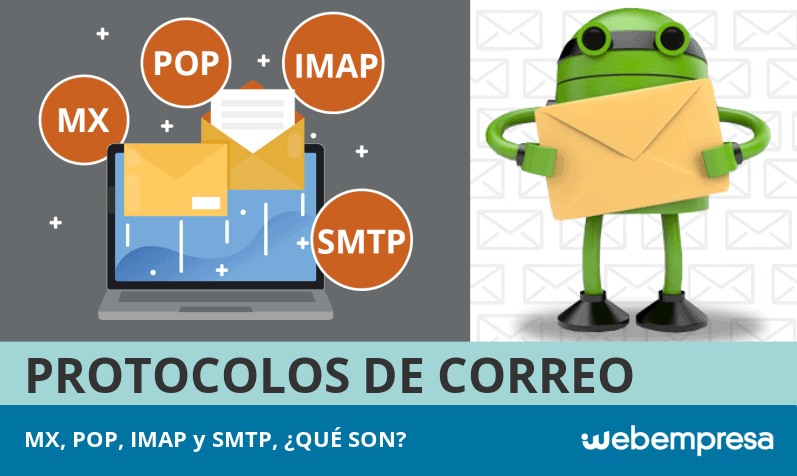 Protocolos de correo MX, POP, IMAP y SMTP, ¿qué son?