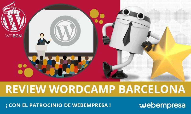 WordCamp Barcelona 2018: con el patrocinio de Webempresa
