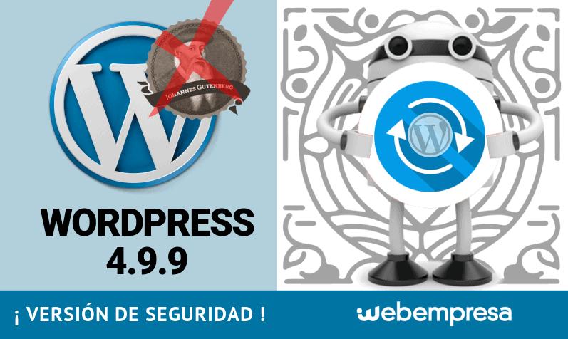 WordPress 4.9.9