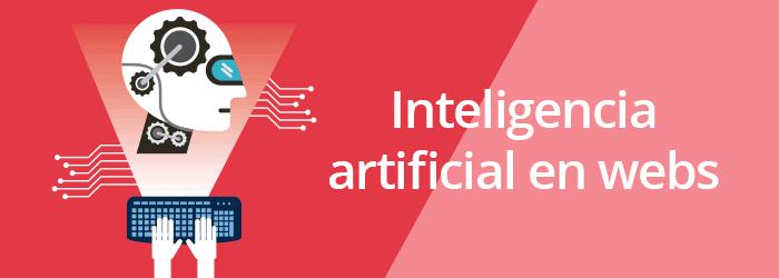 Inteligencia Artificial en páginas web