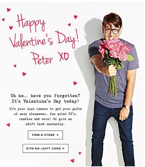Ejemplo de eCommerce que aumenta las ventas en San Valentín: walmart