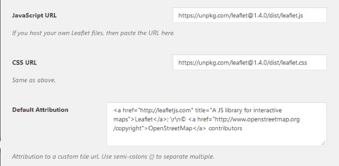 Conexión con la librería Leaflet.js